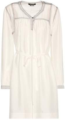Isabel Marant Lindley embroidered silk dress