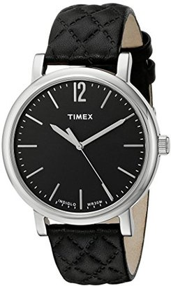 Timex Women's TW2P71100AB Heritage Collection Analog Display Quartz Black Watch $70 thestylecure.com