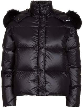 Couture Forte Quilted Fur Hood Jacket