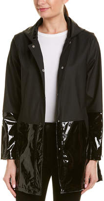 Urban Republic Shiny And Matte Vinyl Rain Jacket