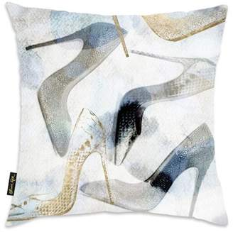 "Oliver Gal Gallery Bianca Decorative Throw Pillow - 18""x18\"""