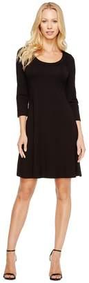 Karen Kane 3/4 Sleeve A-Line Dress Women's Dress
