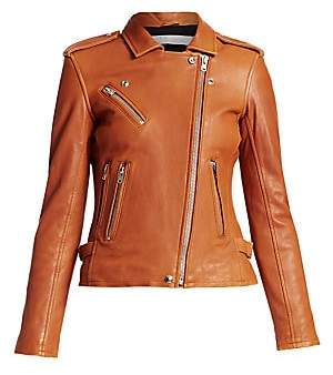 IRO Women's Han Leather Moto Jacket