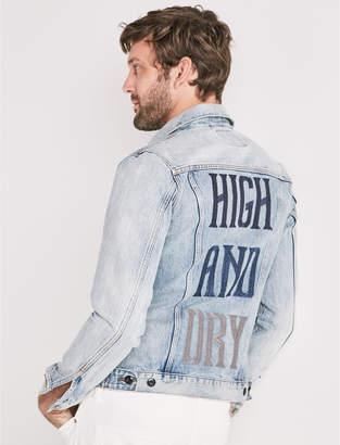 Lucky Brand HIGH AND DRY DENIM TRUCKER JACKET