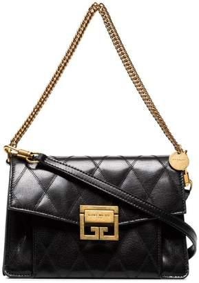 Givenchy Black GV3 small quilted leather shoulder bag 800e20450faf9