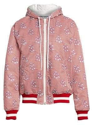 Alexander Wang Stars& Stripes Bomber Jacket
