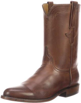 Lucchese Men's Bannock Leather Cowboy Boots