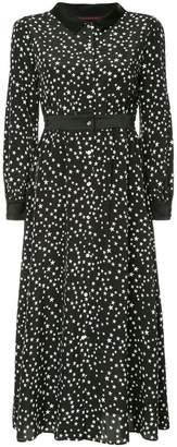 GUILD PRIME star print maxi dress
