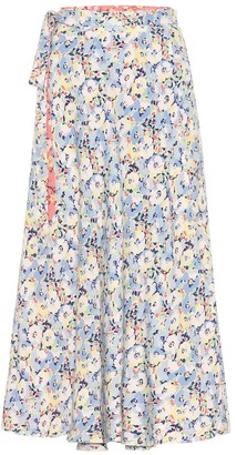 Polo Ralph Lauren Reversible floral midi skirt