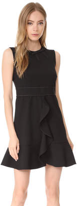 RED Valentino Ruffled Dress $595 thestylecure.com