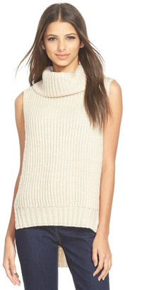 ASTR the Label High/Low Turtleneck Sweater $68 thestylecure.com