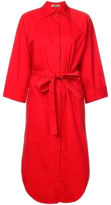Nina Ricci belted shirt dress