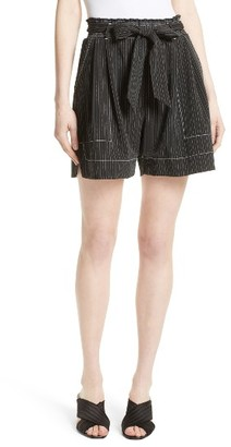 Women's Tracy Reese Stripe Soft Shorts $198 thestylecure.com