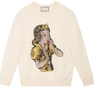 Gucci Sequin Snow White sweatshirt
