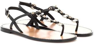 Valentino Cagestuds leather sandals
