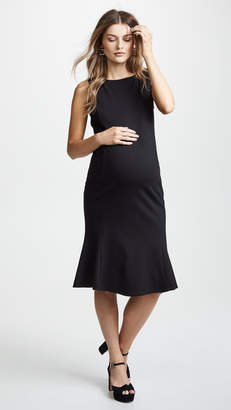 Ingrid & Isabel Tulip Hem Ponte Maternity Dress