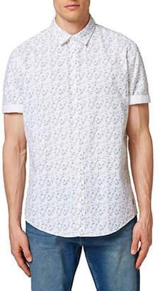 Scotch & Soda Esprit Short-Sleeve Cotton Sport Shirt