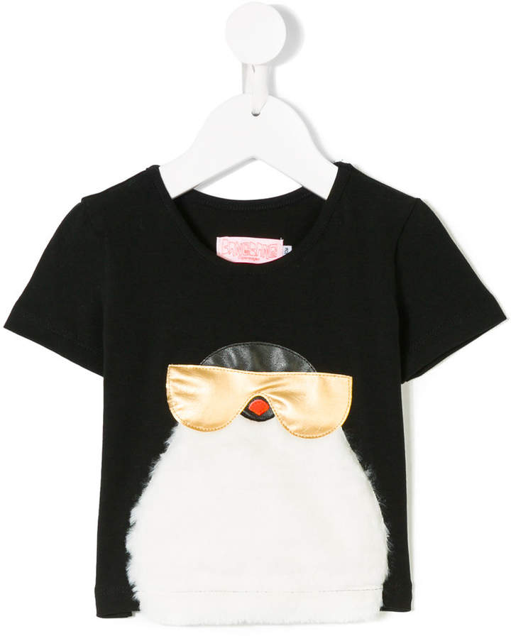 Bang Bang Copenhagen furry penguin T-shirt