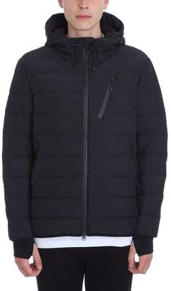 Mauro Grifoni Black Nylon Down Jacket