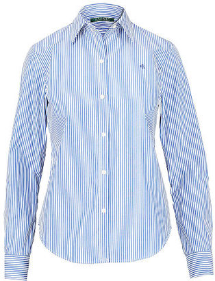 Ralph Lauren Cotton Button-Down Shirt $69.50 thestylecure.com