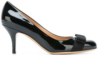 Salvatore Ferragamo Carla pumps $550.81 thestylecure.com