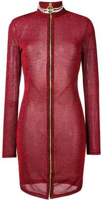 DAY Birger et Mikkelsen Gcds lurex fitted zip dress