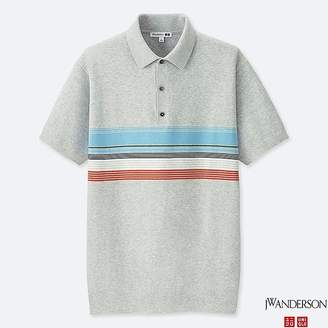 Uniqlo Men's Jwa Knit Short-sleeve Polo Shirt
