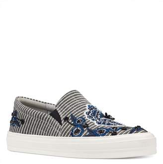 Nine West Onyeka Embroidered Slip-On Sneaker