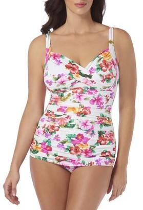 b1f5a98b78359f Simply Slim Women's Twist Bra Sheath One-Piece Swimsuit