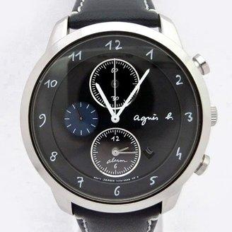 agnès b. (アニエス ベー) - アニエスベー agnesb マルチェロ クロノグラフ ソーラー FBRD972 [国内正規品] メンズ 腕時計 時計