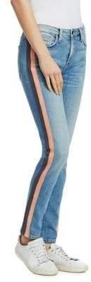 Hyde Tuxedo Stripe Skinny Jeans