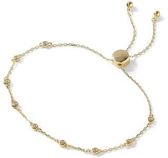 Banana Republic Everyday Luxuries 14k Gold-Plated CZ Slider Bracelet