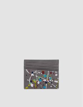 Maison Margiela Plain Leather Painter Treatment Cardholder