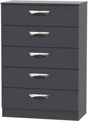 Canterbury of New Zealand Swift SWIFT Ready Assembled 5 Drawer Chest
