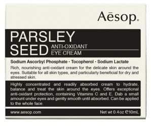 Aesop Parsley Seed Anti-Oxidant Eye Cream/0.4 oz.