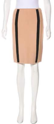 Herve Leger Knit Knee-Length Pencil Skirt w/ Tags