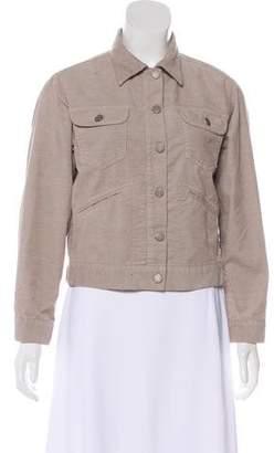 Etoile Isabel Marant Corduroy Button-Up Jacket