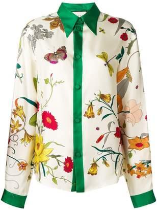 Gucci Flora print shirt