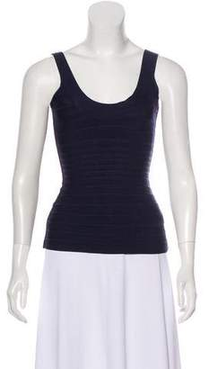 Herve Leger Katie Sleeveless Bandage Top