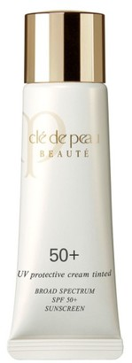 Cle De Peau Beaute Uv Protective Cream Tinted Broad Spectrum Spf 50+ $85 thestylecure.com