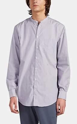 Massimo Alba Men's Noto Striped Cotton Shirt - Purple Pat