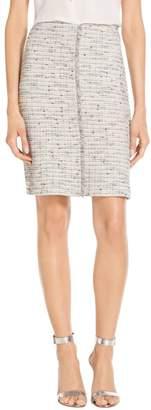 St. John Josephine Tweed Knit Skirt