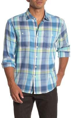 Tommy Bahama Rahi Plaid Sport Shirt