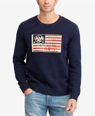 Polo Ralph Lauren Men's Crewneck Sweater $165 thestylecure.com