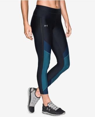Under Armour HeatGear® Colorblocked Leggings $49.99 thestylecure.com