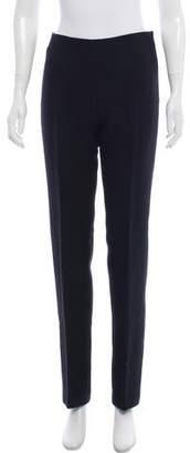 Alaia Mid-Rise Wool Pants