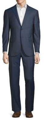 Corneliani Textured Virgin Wool Suit