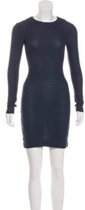Kimberly Ovitz Pleated Sheath Dress w/ Tags