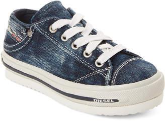Diesel Infants Boys) Faded Denim Platform Sneakers