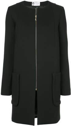 Lanvin (ランバン) - Lanvin zipped neoprene coat